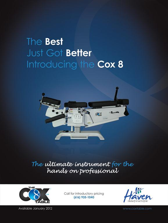 Introducing The Cox8 Table...