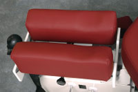 Cox Table face cushions wider